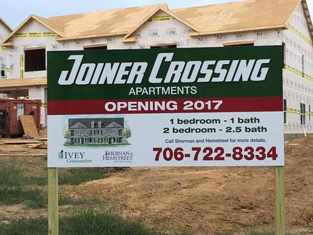 New Apartments for Grovetown   Sherman and Hemstreet