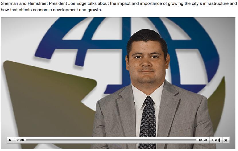 Augusta CEO Screen Grab Development interview | Sherman and Hemstreet