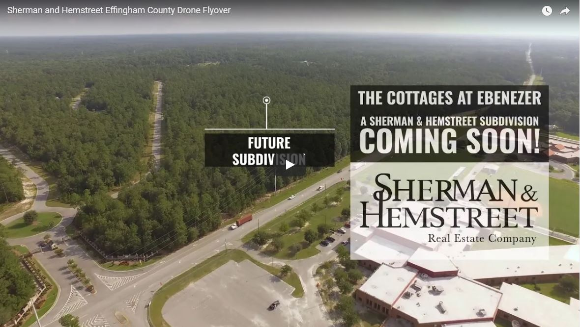 Pullquote Effingham Drone Video  | Sherman and Hemstreet