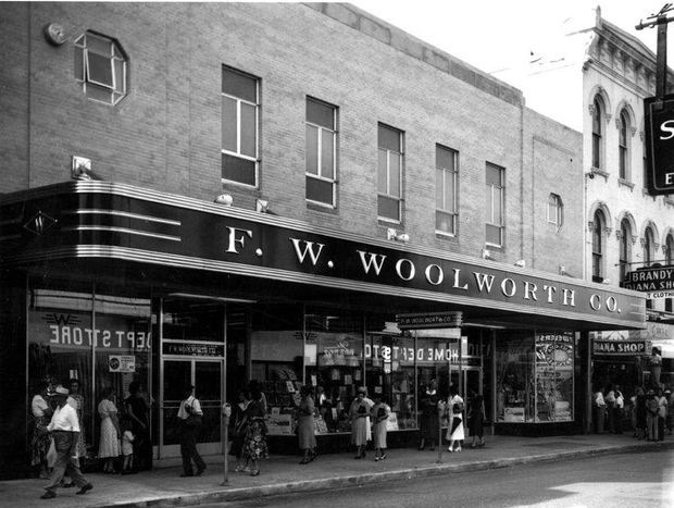 BW woolworths  | Sherman and Hemstreet