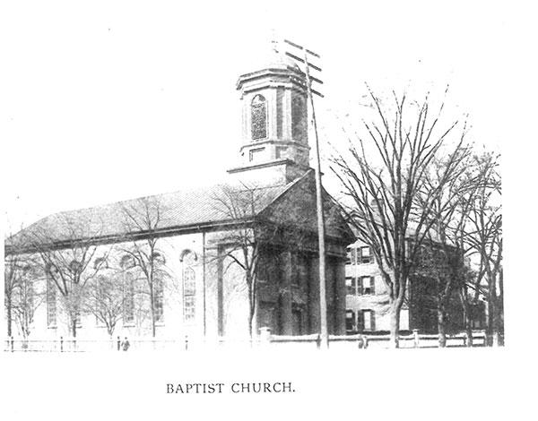 1894-Original-First-Baptist-Building | Sherman and Hemstreet